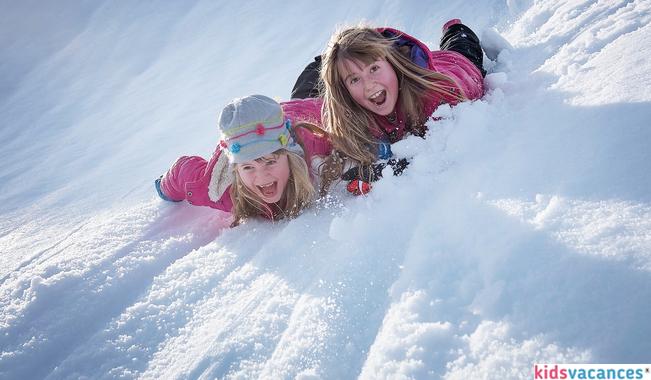 Ski en colonie de vacances