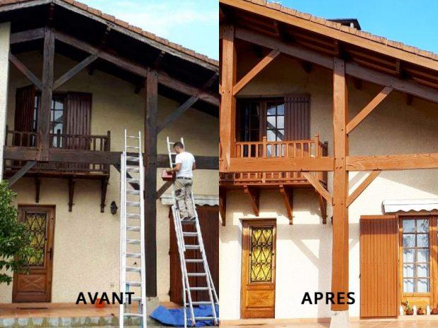Peinture la facade pour un meilleur aspect