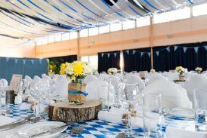 salle de réception pour un mariage